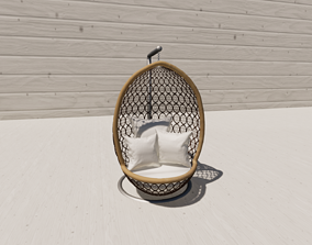 Egg Chair Revised 3D