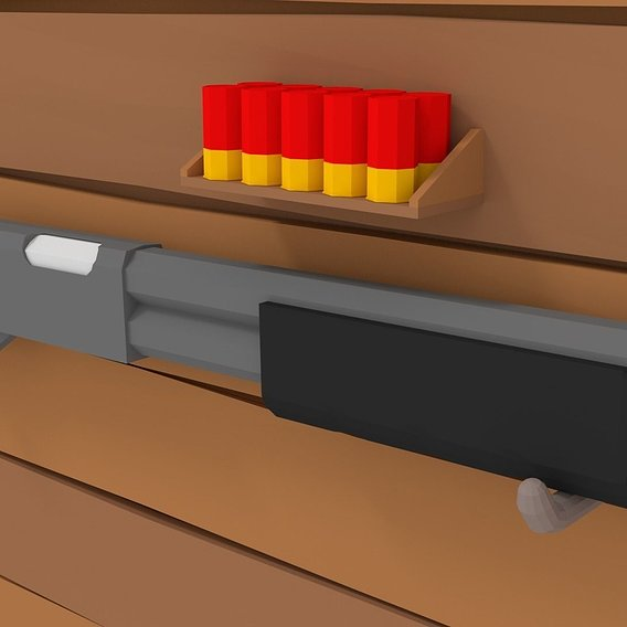 LowPoly Shotgun