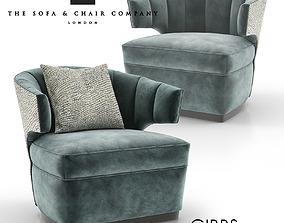 Gibbs Occasional Armchair 3D model