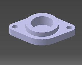 bearings holder D30 B14 d8 3D printable model