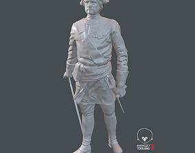 3D model The Russian Emperor Petr1