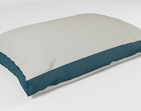Realistic Two Color Pillow - 3ds Max
