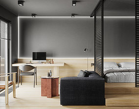 3D model Modern Style Apartment- PTV033