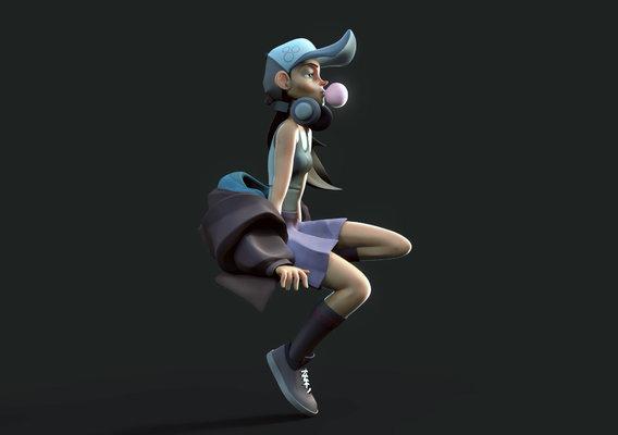 3D Pop Girl