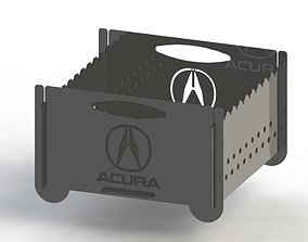 3D print model Grill with Acura logo 300x300 for laser