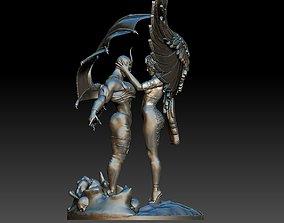 Angel and Devil 3D printable model