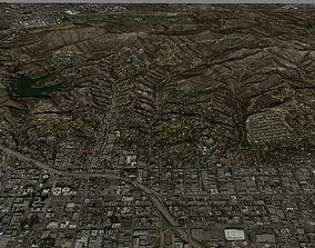3D Cahuenga Peak