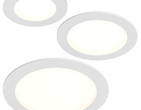 223xxx Zocco Lightstar LED panel 3D model