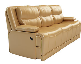 3D model Golston Reclining Sofa by Darby Home