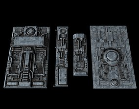 Spacecraft Sheathing and Structure Part IV 3D model