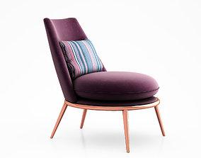 Aurora armchair by Cantori cantori 3D
