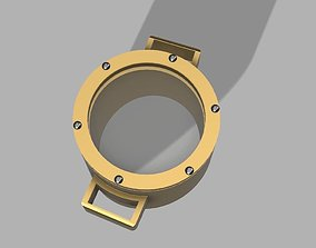 Right Eye Steampunk Monocle 3D printable model