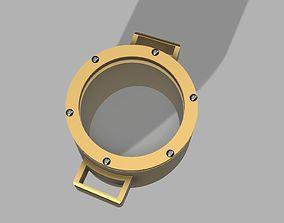 Right Eye Steampunk Monocle 3D printable model
