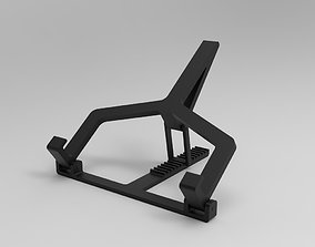 easy 3D printable model Laptop Stand Adjustable