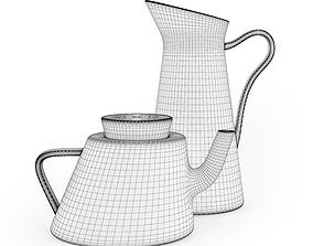 Teapot and Jug 3D model