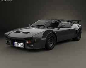 3D model De Tomaso Pantera GT5-S 1984