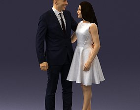 Young couple 0002 3D Print Ready romantic