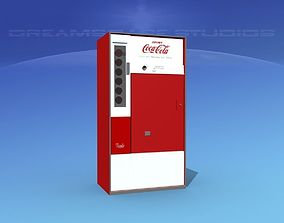 1950s Coke Machine 3D