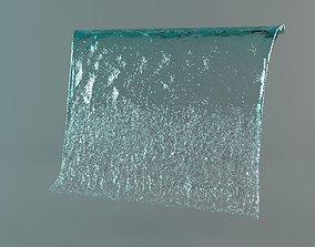 Fountain potok water 3D model