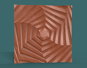 house Hexagonal wall panel model