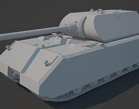 Panzerkampfwagen 8 - Maus tank 3D model