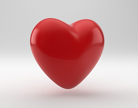 3D model Heart Shape