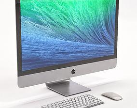 3D model Apple IMac computer