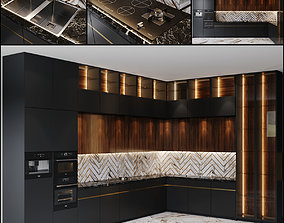 Kitchen Modern 14 3D model