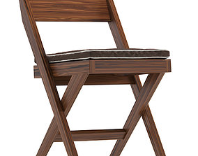 Library Chair by Pierre Jeanneret a Pair 1stdibs 3D