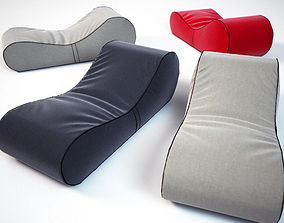 BEAN BAG LOUNGER 3D