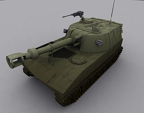 M109 Self Propelled Gun 3D
