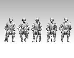 3D printable model German soldiers war