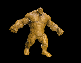 3D printable model Clay Golem