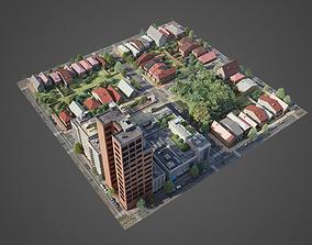 3D model City District A1-R9
