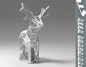 Reindeer stl 3D print model