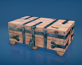 Medieval chest 2 3D asset