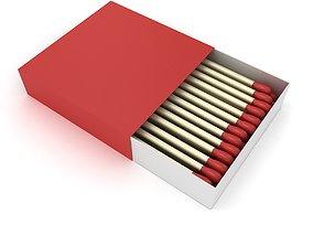 3D model Matchbox package