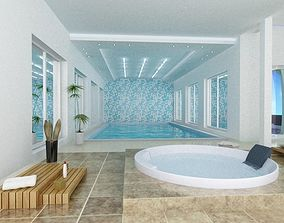house 3D Swimming pool