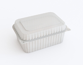 3D model Plastic container