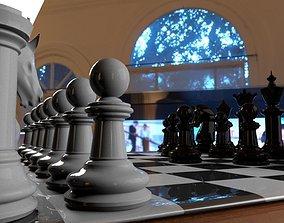 Chess 3D print model board