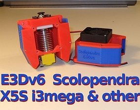 E3Dv6 Scolopendra Cooler for X5S - i3mega and other