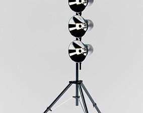 3D asset Studio Light Stand