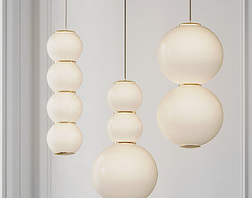 PEARLS Pendant Light from Formagenda 3D model