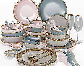 Kitchenware and Tableware 06 3D