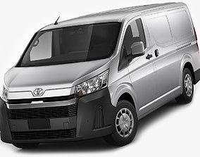 Toyota Hiace Van LWB 2020 3D model