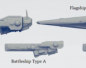 Imperial Fleet Pack 1 3D print model