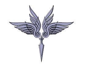 3D printable model Artemis Emblem Saint Seiya