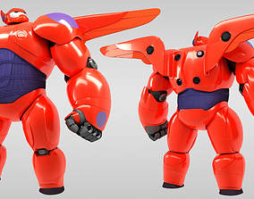 3D model Baymax - Big Hero 6