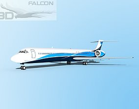 Falcon3D MD-80 Corporate 3 rigged