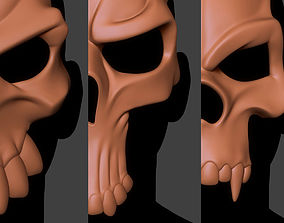 pumpkin 3D print model Skull Mask Collection